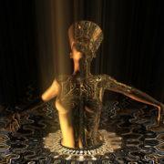 Nefertiti-Gold-Rays-Vj-Loop-LIMEART_006 VJ Loops Farm - Video Loops & VJ Clips