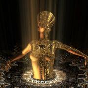 Nefertiti-Gold-Rays-Vj-Loop-LIMEART_007 VJ Loops Farm - Video Loops & VJ Clips