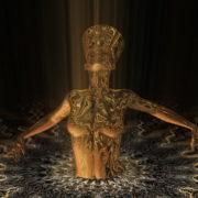 Nefertiti-Gold-Rays-Vj-Loop-LIMEART_009 VJ Loops Farm - Video Loops & VJ Clips