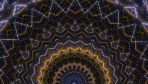 vj video background Gold-Rainbow-Bridge-LIMEART-VJ-Loop-FullHD_003