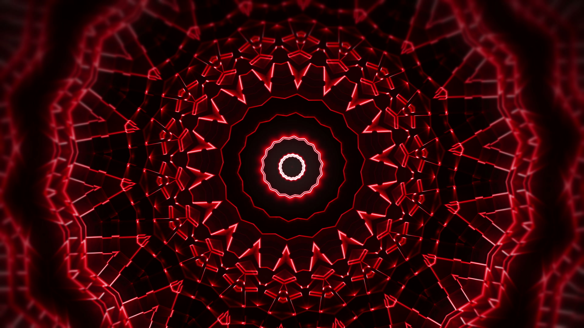 vj video background Kaleido-Red-Sun-LIMEART-VJ-Loop-FullHD_003