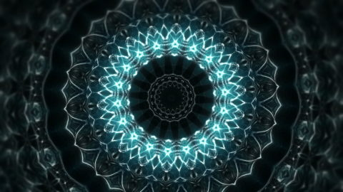 vj video background Whale-Flower-Kaleido-LIMEART-VJ-Loop-FullHD_003