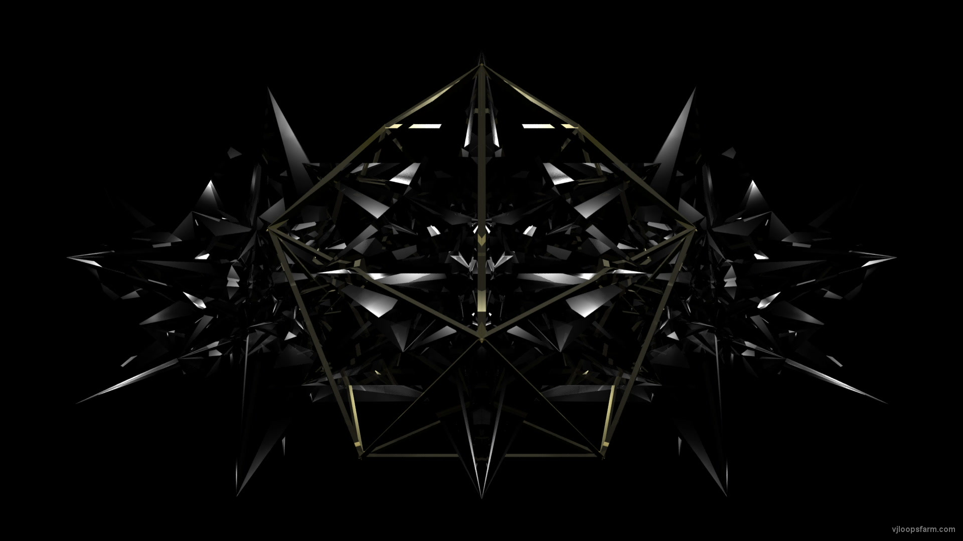 vj video background Black-Glass-Form_1920x1080_60fps_VJLoop_LIMEART.mov_003