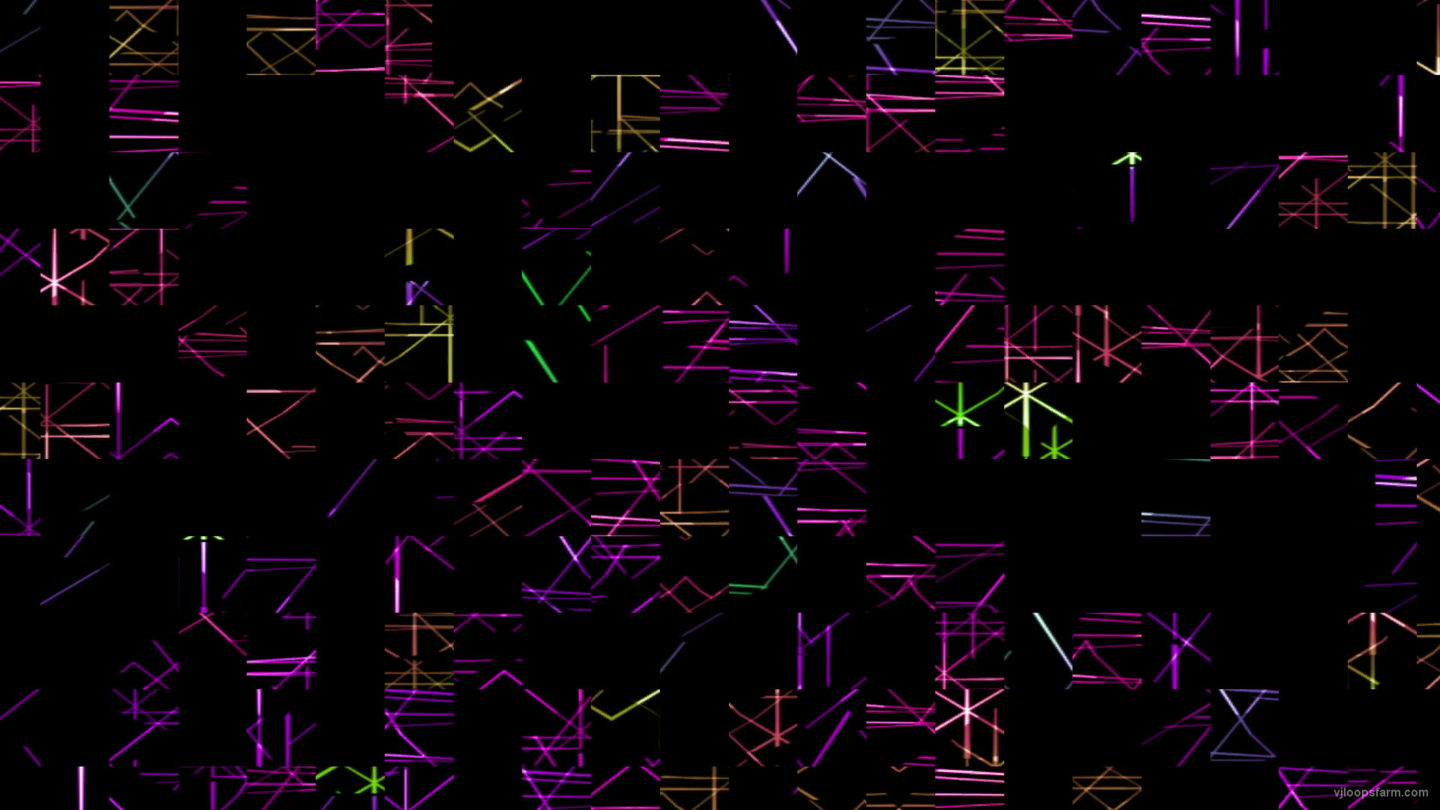 vj video background Colorful-noise_1920x1080_29fps_VJLoop_LIMEART_003