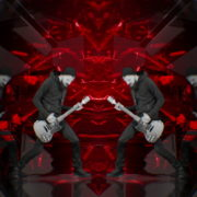 vj video background Guitar-Red-Drivecore-LIMEART-VJ-Loop_003