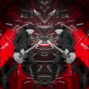 vj video background Guitar-Red-Glow-LIMEART-VJ-Loop_003