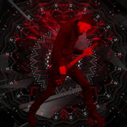 Guitar-Red-One-Center-LIMEART-VJ-Loop_002 VJ Loops Farm