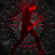 Guitar-Red-One-Center-LIMEART-VJ-Loop_007 VJ Loops Farm
