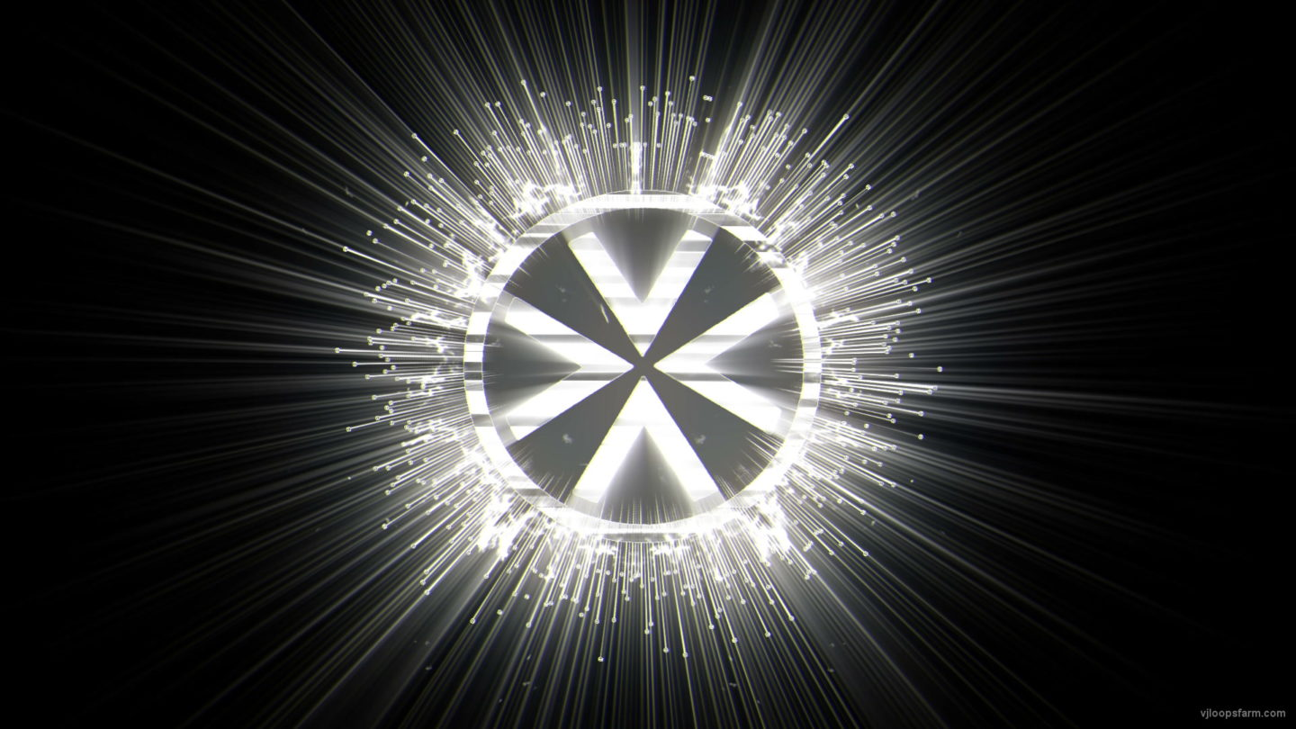 vj video background Occult-Star_1920x1080_25fps_VJLoop_LIMEART_003