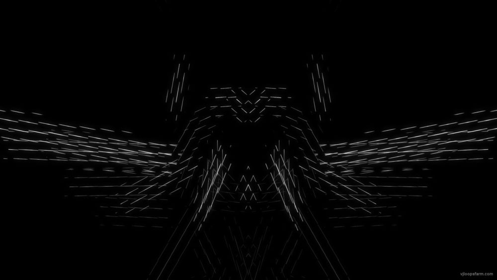 vj video background Polygon-white_1920x1080_30fps_VJLoop_LIMEART_003