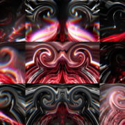 Red-Eval_1920x1080_25fps_VJLoop_LIMEART VJ Loops Farm