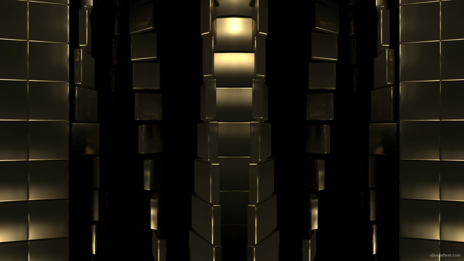 vj video background Gold-Wall_1920x1080_29fps_VJLoop_LIMEART_003