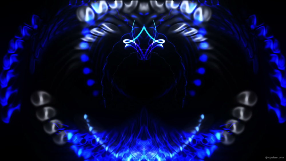 vj video background Train-Blue-Neon_1920x1080_25fps_VJLoop_LIMEART_003