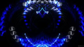 vj video background Train-Blue-Neon_1920x1080_25fps_VJLoop_LIMEART_003