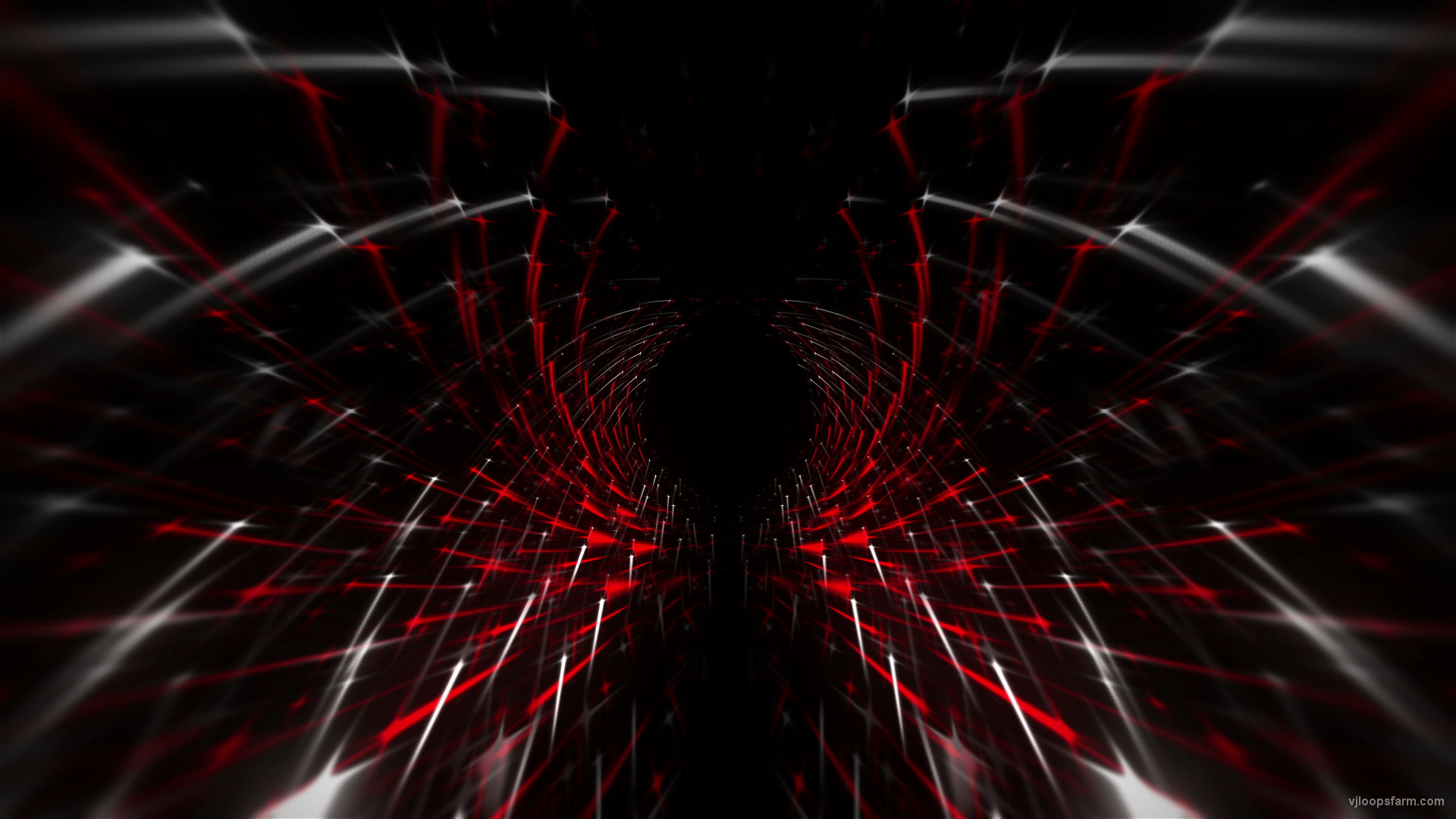 Tunnel Red Matrix - VJ...