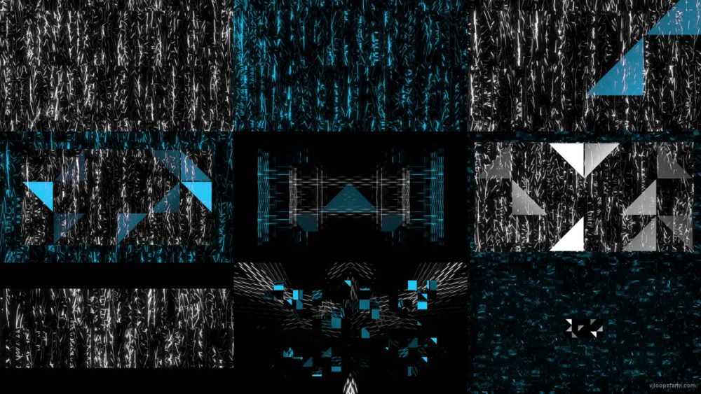 Blue-Struct-Club-Visuals-LIMEART-VJ-Mix VJ Loops Farm