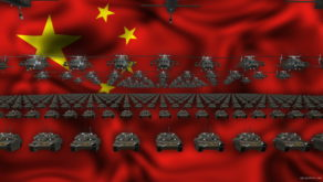 vj video background China-Army_1920x1080_60fps_VJLoop_LIMEART_003