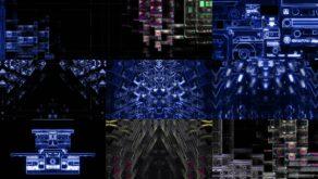 DrumBass-Colorful-VJ-Mix-LIMEART VJ Loops Farm