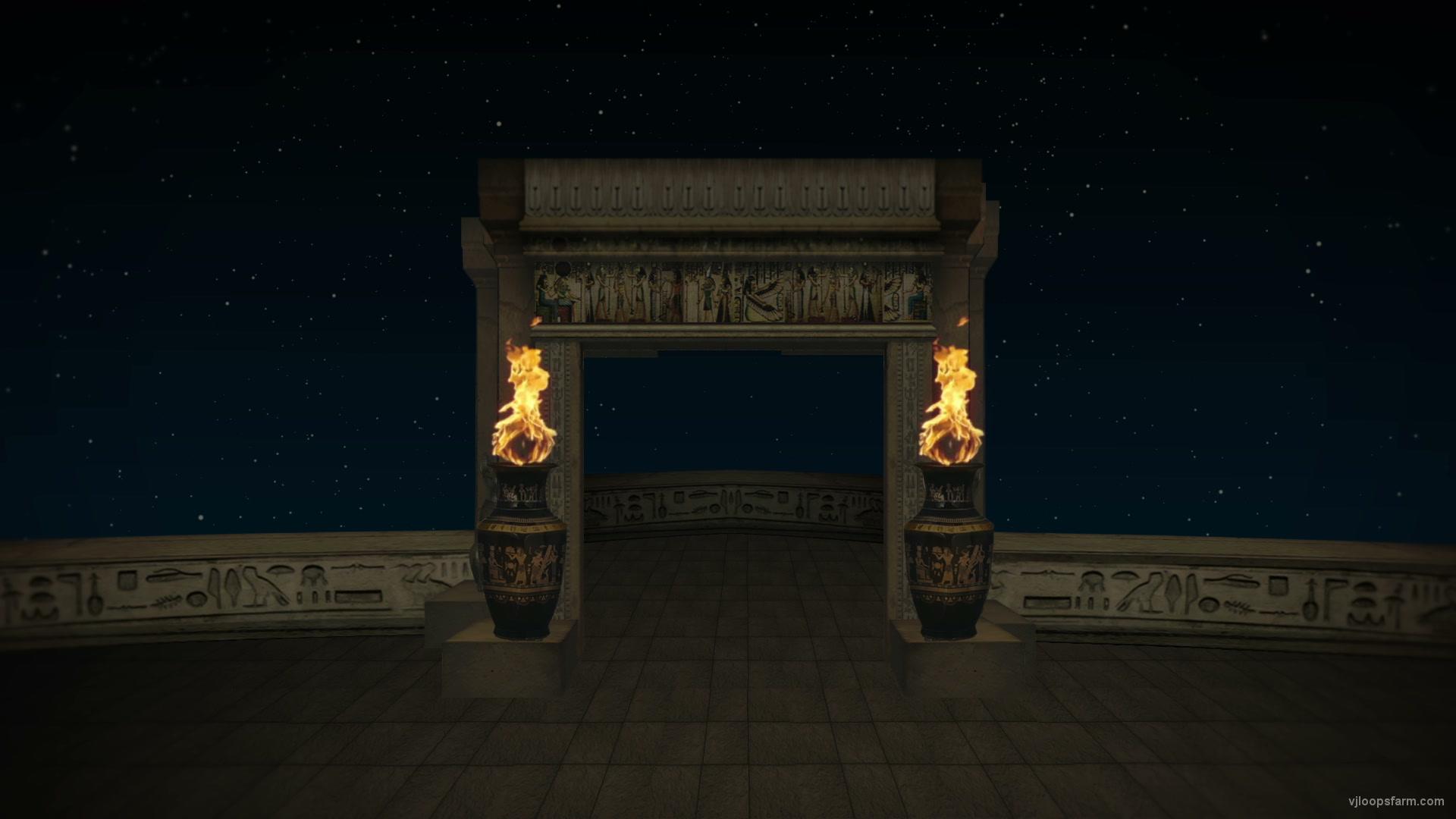 vj video background Egypt-Balcony-Temple_1920x1080_29fps_VJ_Loop_-Night-LIMEART_003
