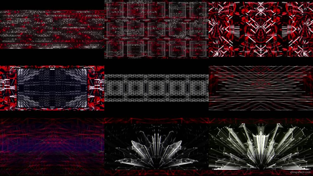 Motion-Red-DJs-Video-Background-VJ-Mix-LIMEART VJ Loops Farm