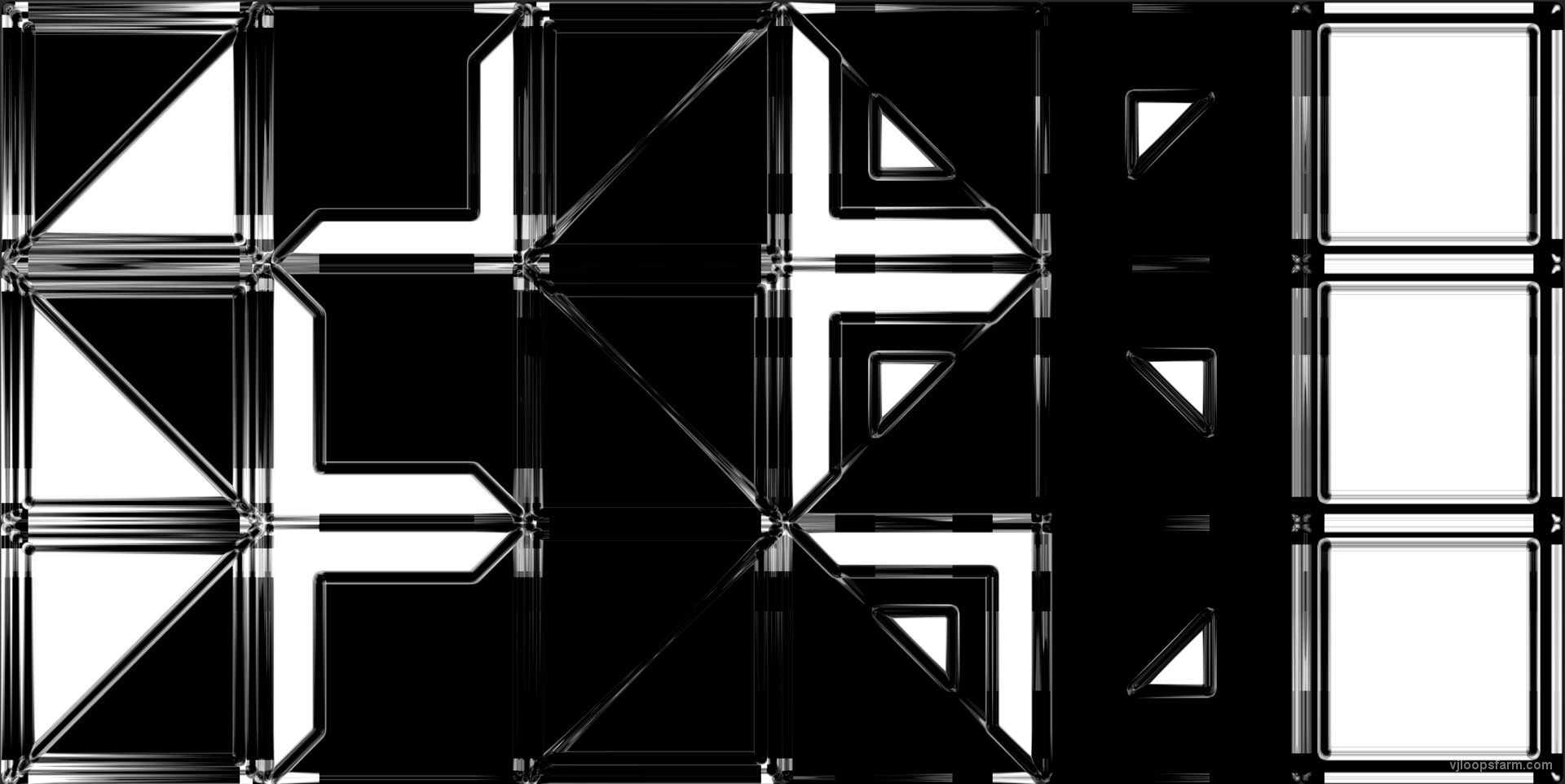 vj video background UV-Mapp-Glass-X2-Cube-Triangle_003