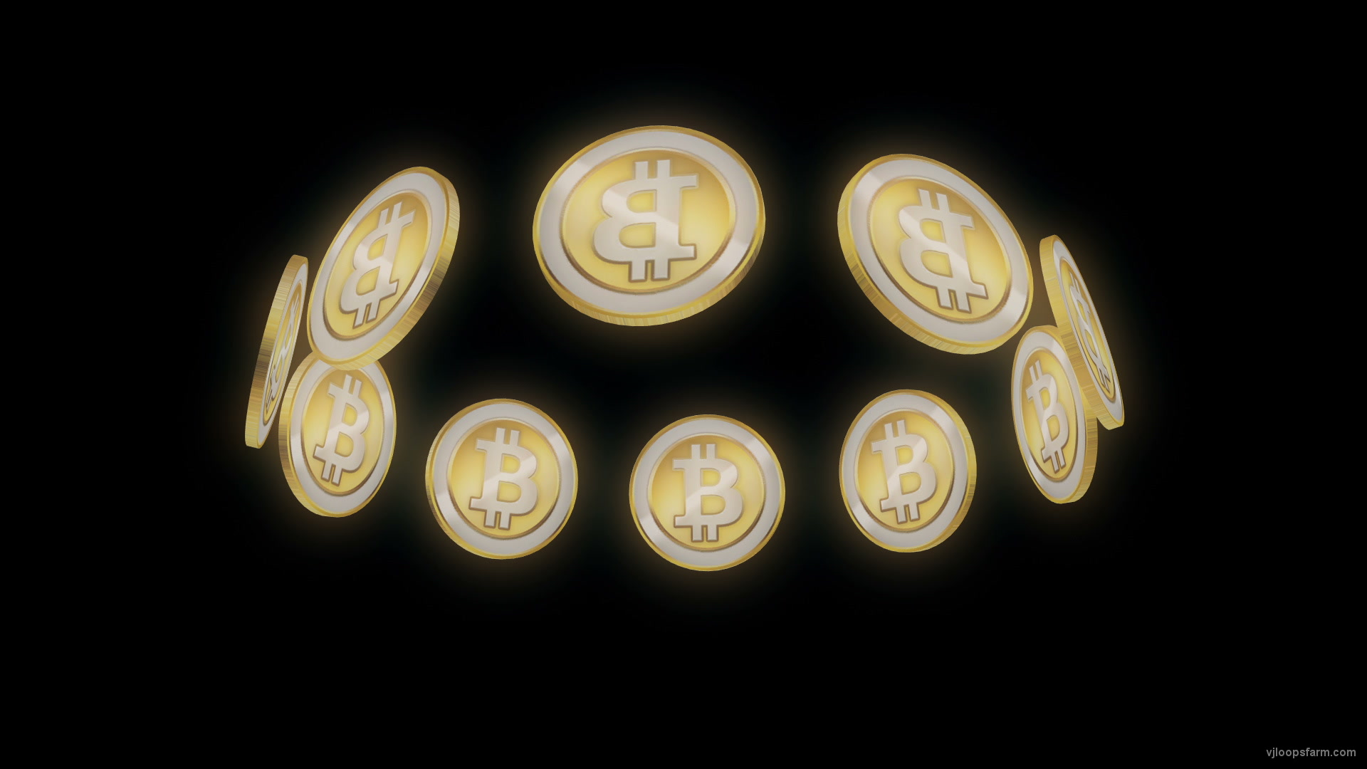 vj video background Bitcoin-Ring-Holographic-VJ-Loop-LIMEART_003