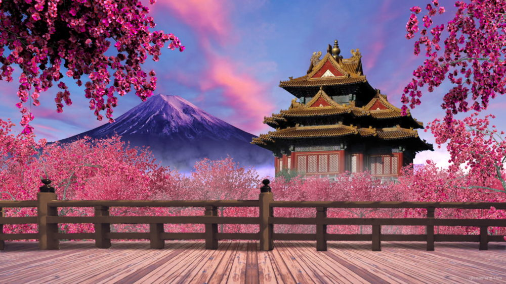 Japan pink garden vj loop download full hd vj loop for Japanese wallpaper home