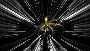 vj video background Octopus-Gold-1920x1080_29fps_VJLoop_LIMEART_003