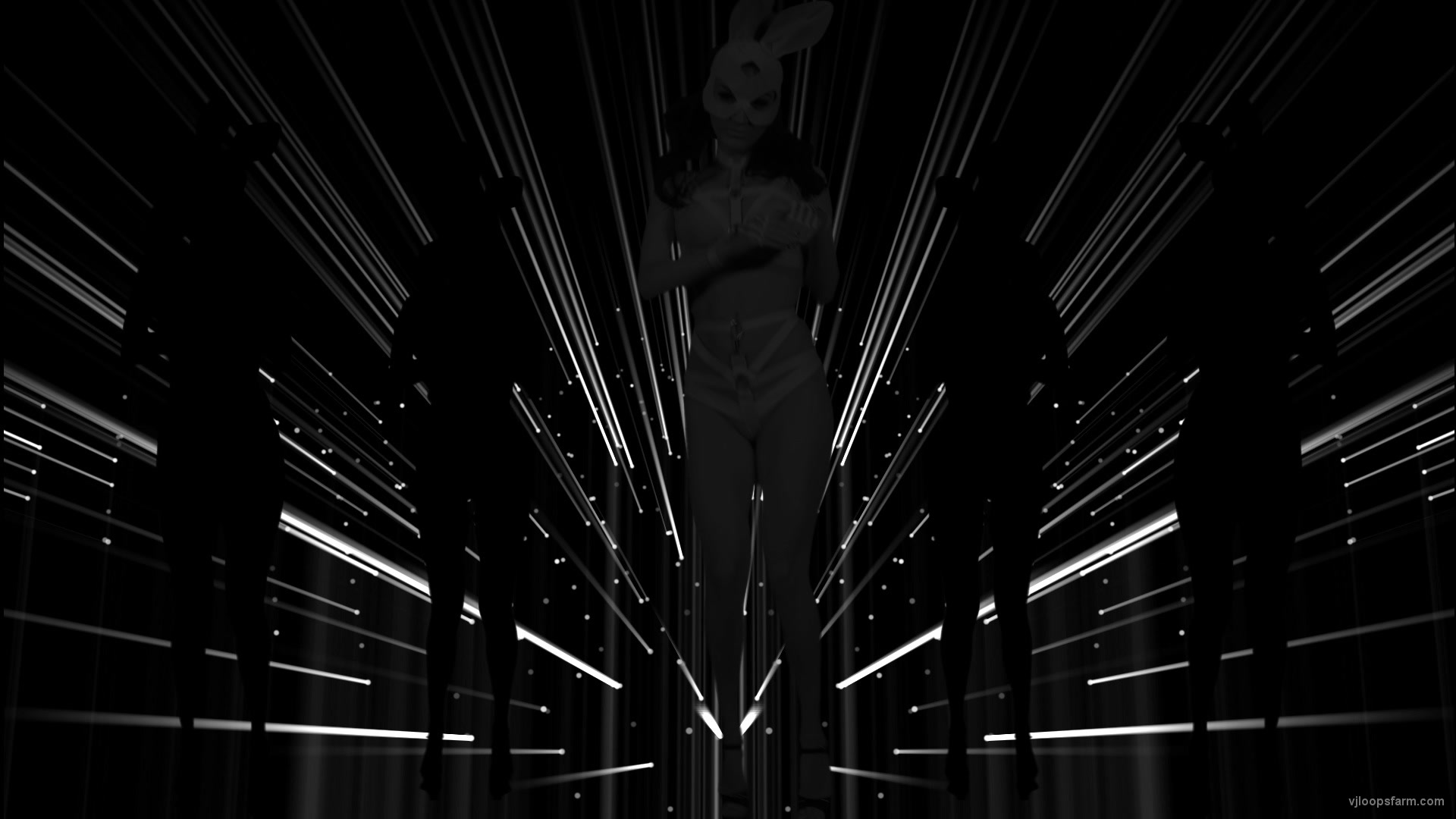 vj video background Rabbit-Power-Blue-Avatar-Frau-1920x1080_29fps_VJLoop-Nektar-Digital_003