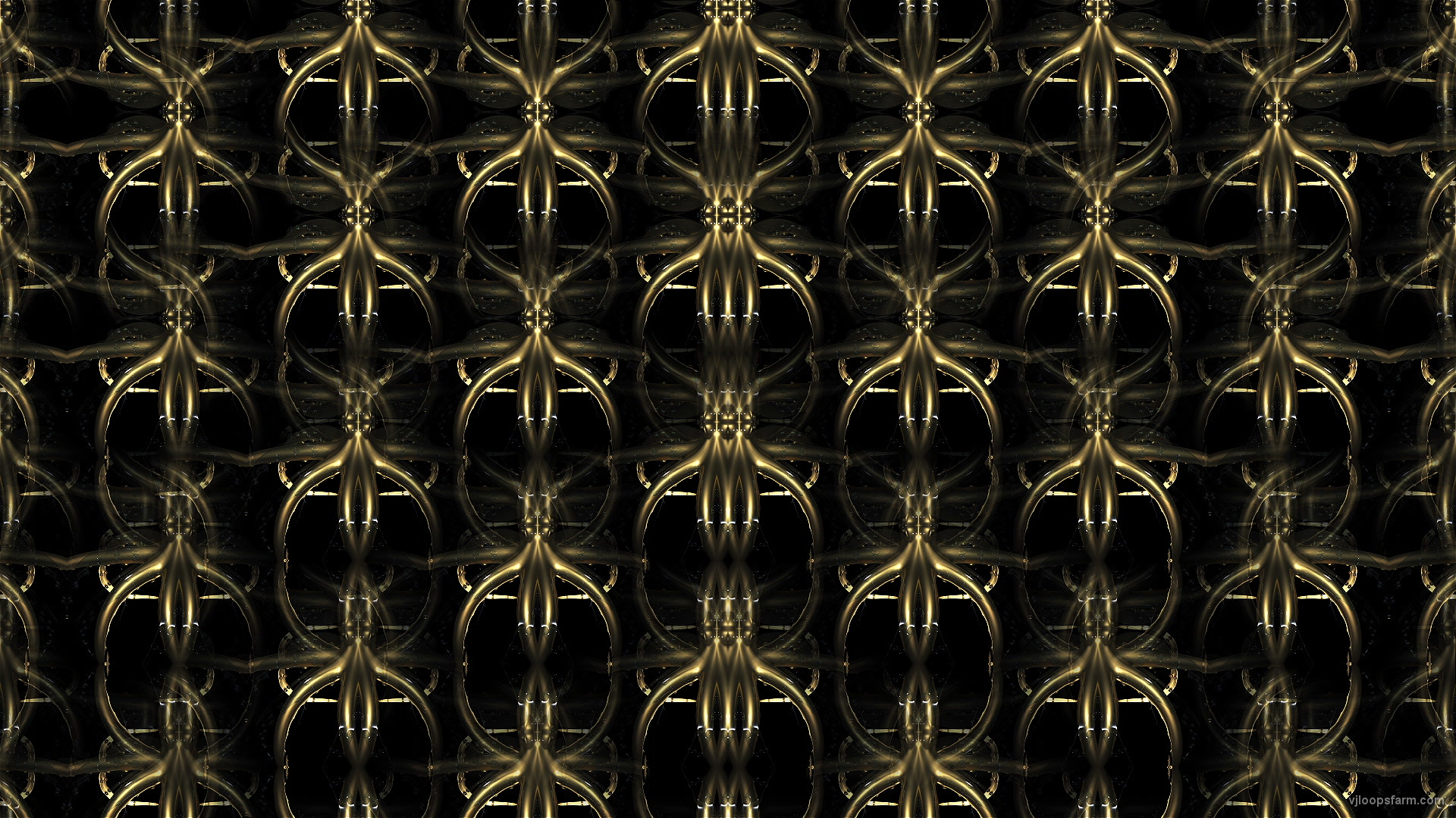 vj video background Octo-Gold-Pattern-VJ-Loop-LIMEART_003