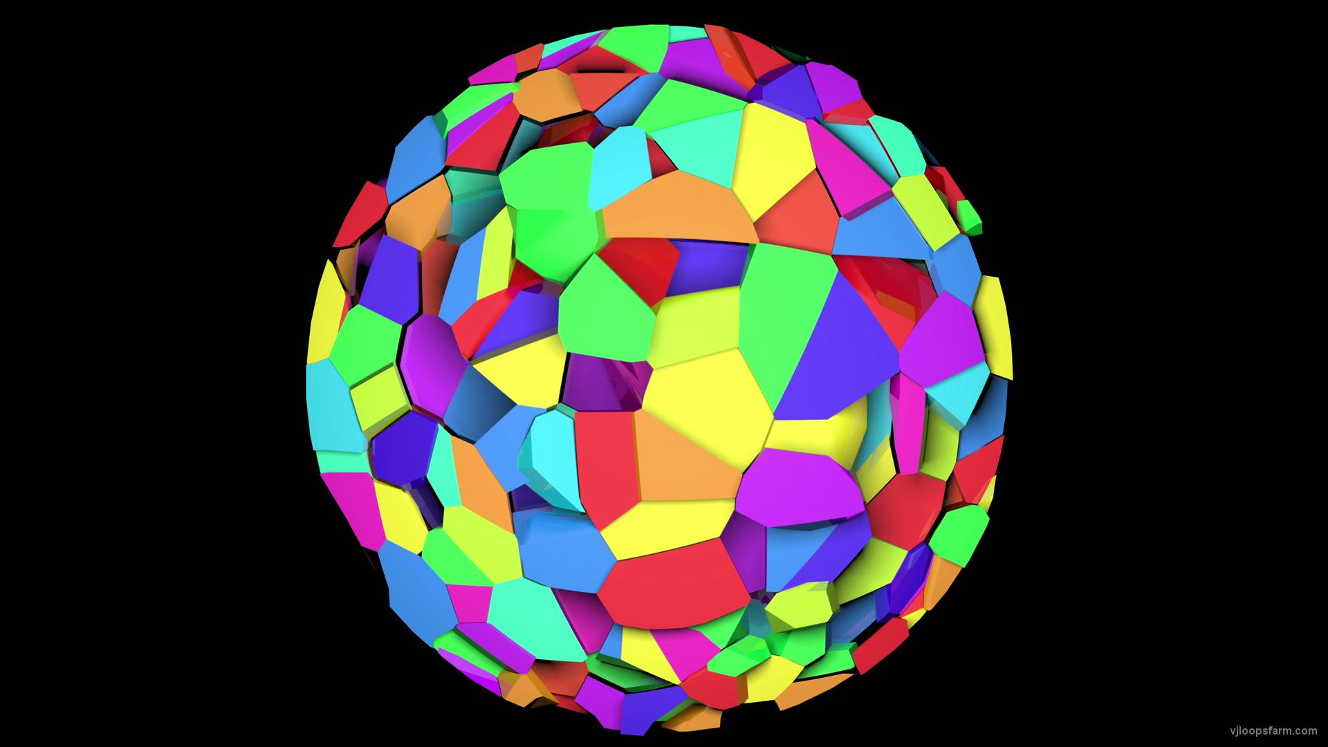 vj video background Rainbow-Top-4K-Fulldome-VJ-Loop_003