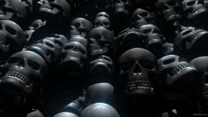 vj video background Skull-Rework-Main-VJ-Loop-LIMEART_003