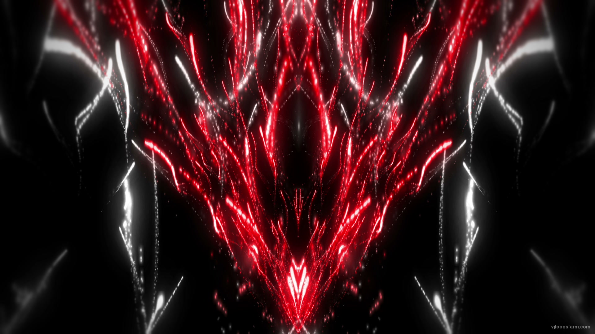 vj video background Fireworks-Pattern-22-Red-White_1_1920x1080_60fps_VJLoop_LIMEART_003