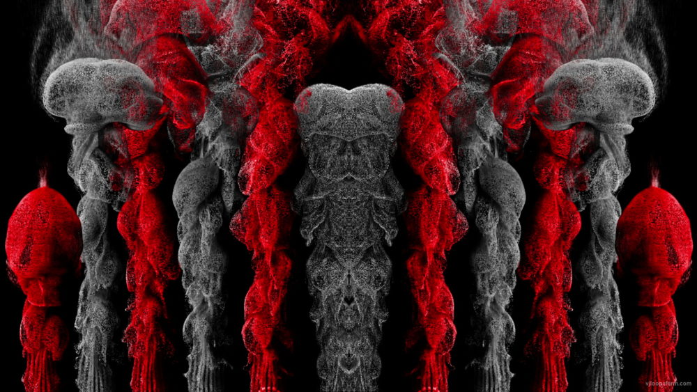vj video background Smoke-Medusa-Red-VJ-Loop-LIMEART_003