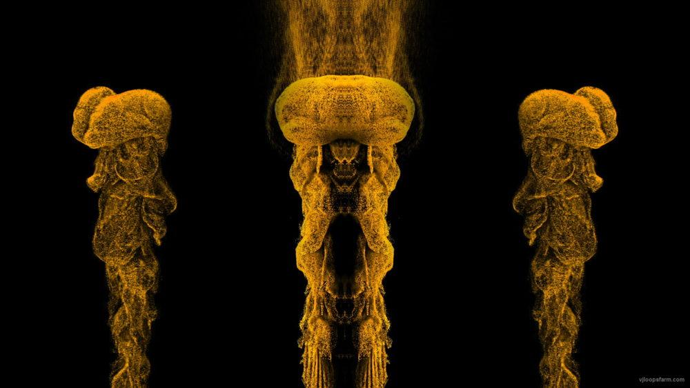 vj video background Smoke-Medusa-Yellow-VJ-Loop-LIMEART_003