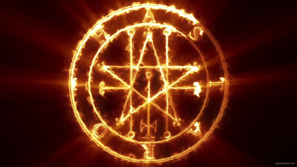 vj video background astaroth-occult-symbol_003
