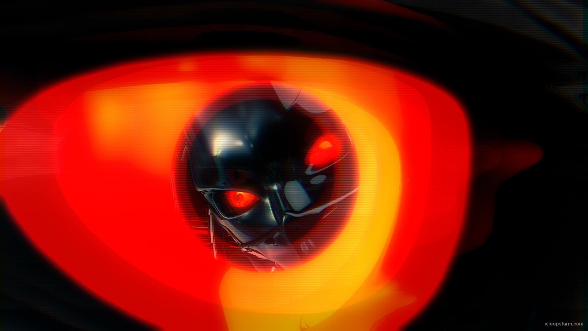 Ð¡yborg head eye UltraHD VJ Loop Download UltraHD VJ Loop