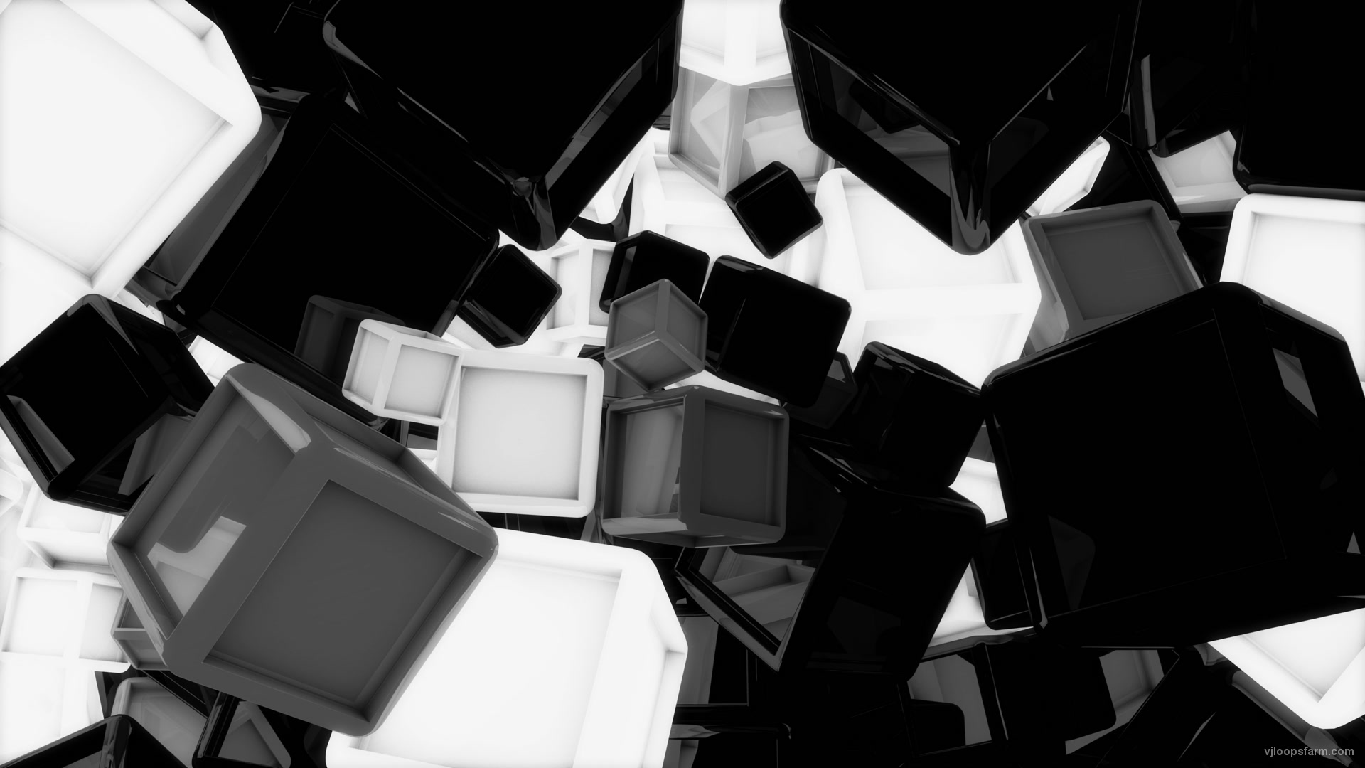glowing-cubes-horizontal-white_002 VJ Loops Farm