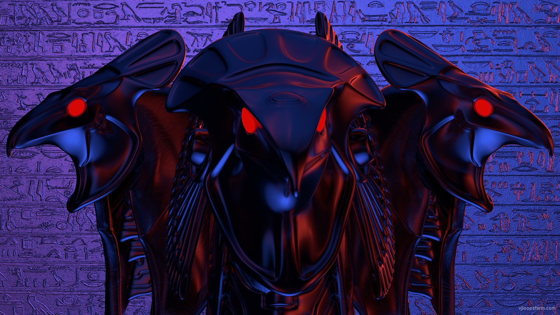 vj video background horus-3-heads-plate_003
