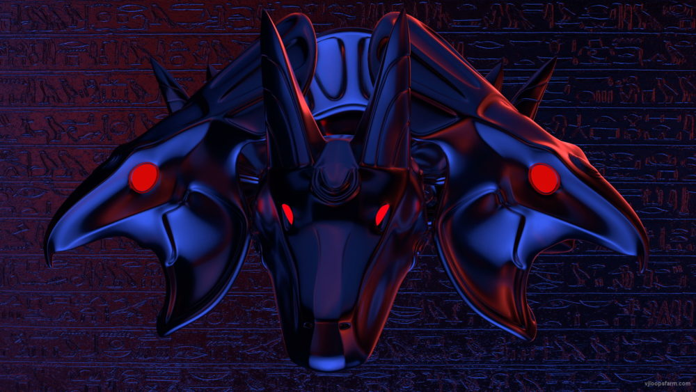 vj video background horus-and-anubis-heads-spin-plate_003