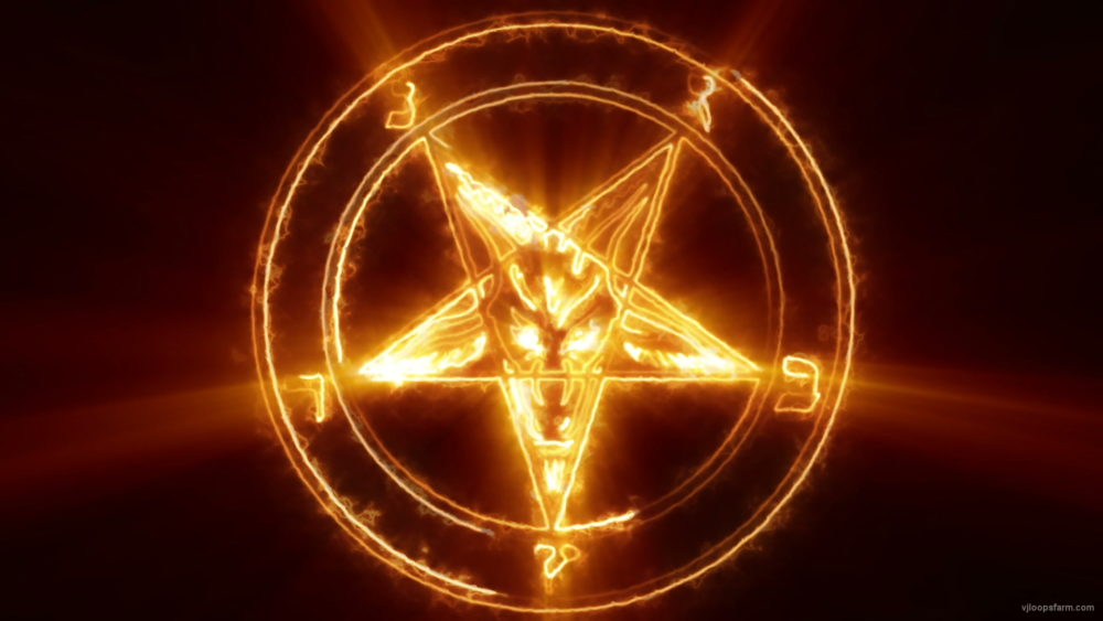 vj video background satan4k-loop_003