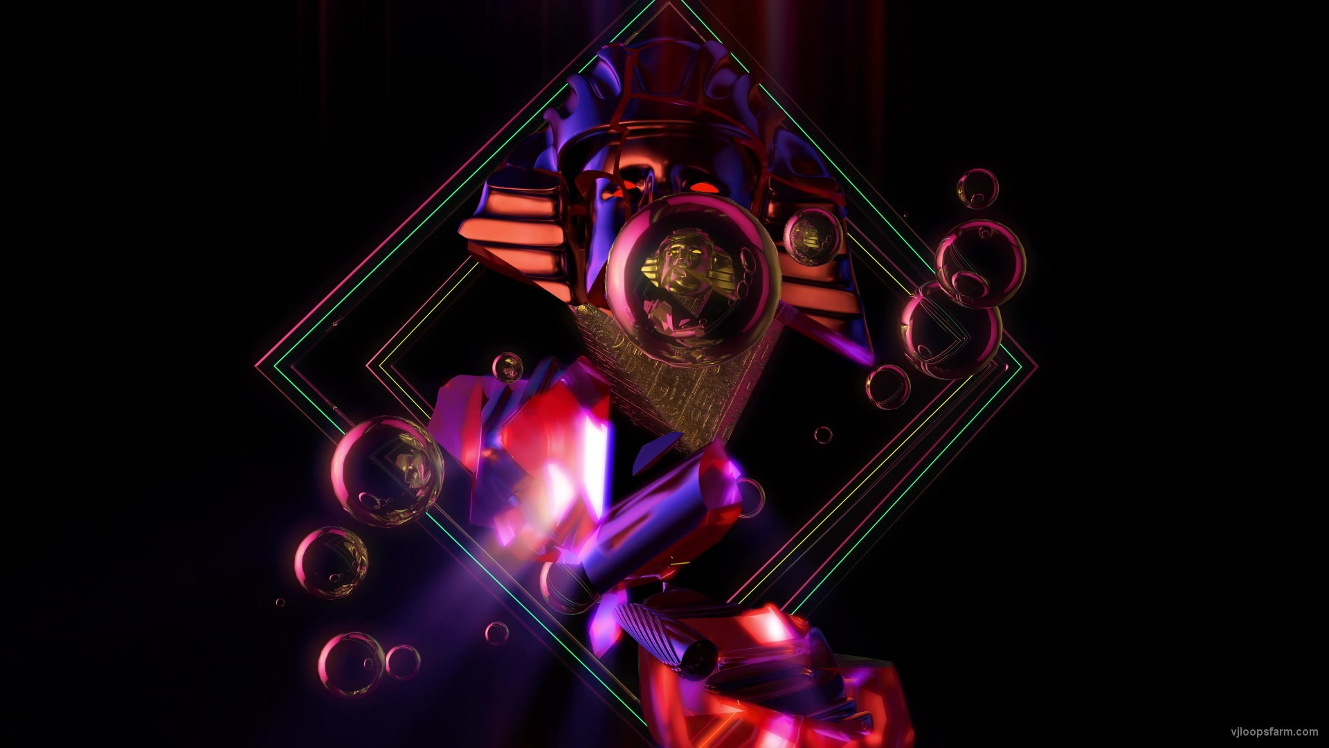 vj video background pharaoh-cracked-abstract-fhd_003