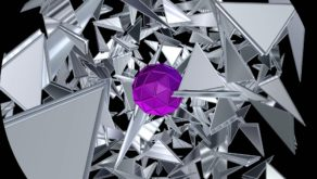 vj video background Abstract-Rotation-Triangles-VJkET-Fulldome-VJ-Loop-Pink-Heart-of-Silver-Triangle-Blizzard4K_003