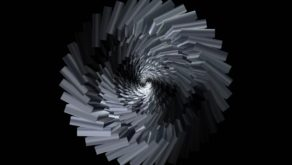 vj video background Abstract-Rotation-Triangles-VJkET-Fulldome-VJ-Loop-Rotating-Silver-Chrome-Tunnel-4K_003