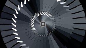 vj video background Abstract-Rotation-Triangles-VJkET-Fulldome-VJ-Loop-Silver-Chrome-Rays-Tunnel-4K_003