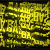 Video-Mapping-BASS-Displace-Text-Word_006 VJ Loops Farm