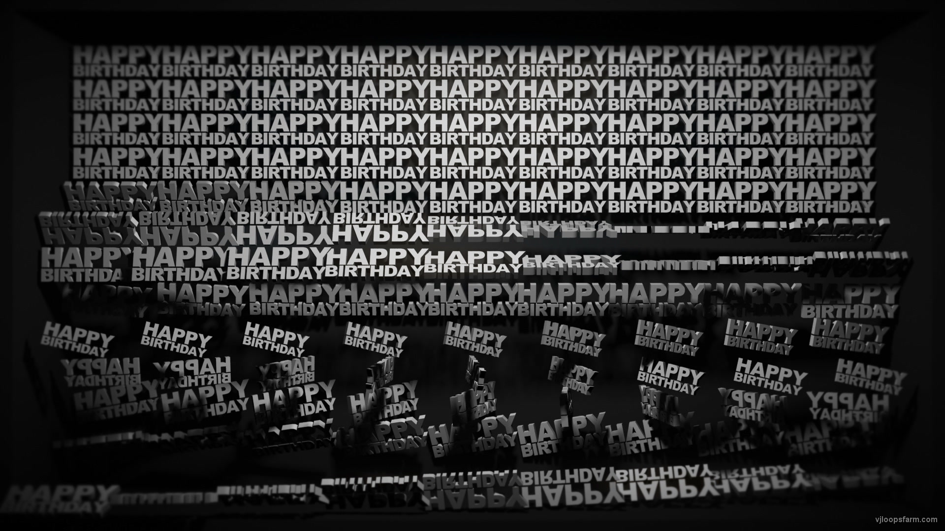 vj video background Video-Mapping-Happy-Birthday-Displace-Text-Word_003