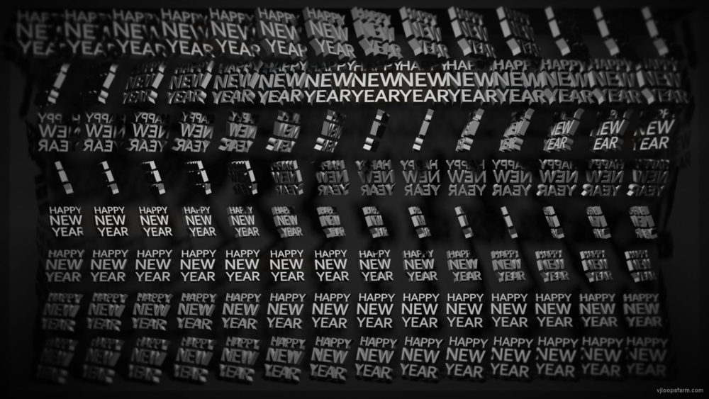 vj video background Video-Mapping-Happy-new-year-Displace-Text-Word_003