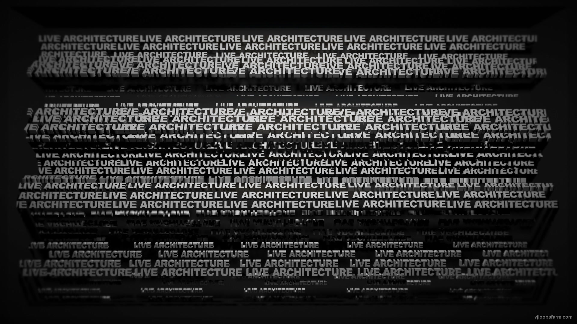 vj video background Video-Mapping-LIVE-ARCHITECTURE-Displace-Text-Word_003