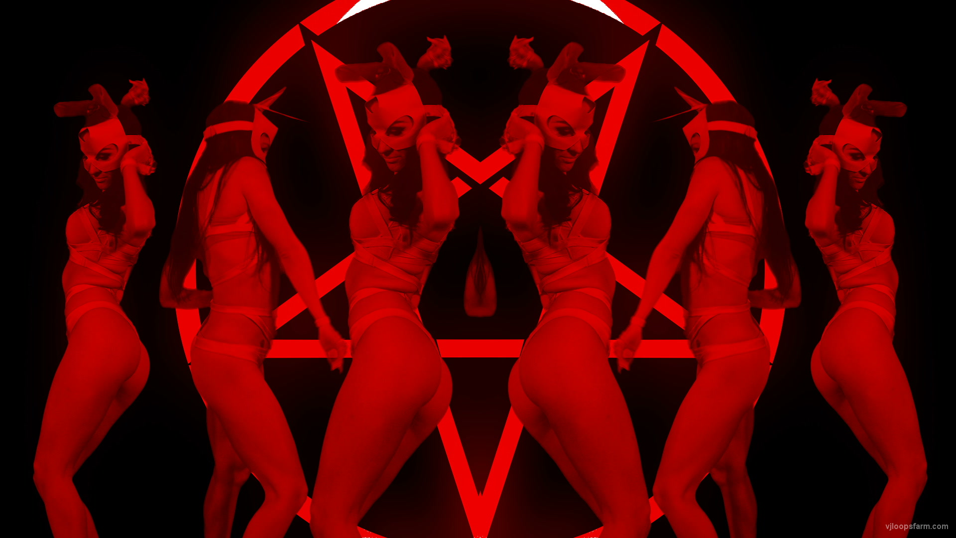 vj video background EVIL-Frau-Rabbit-LIMEART-VJ-Loop-2_003